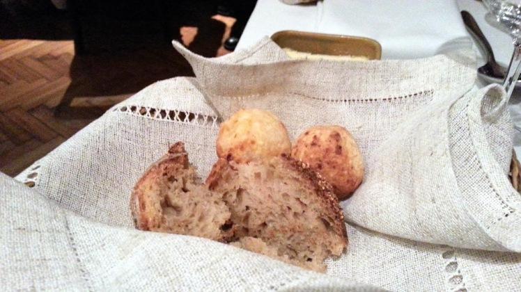 Restaurante Malabar - Servicio de pan
