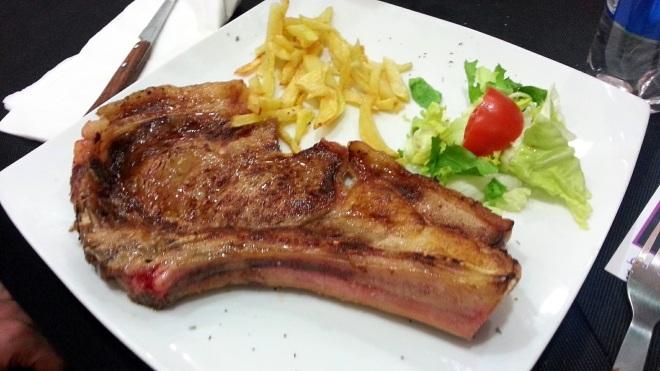 Restaurante Casa Tiburcio - Chuletón de Avila