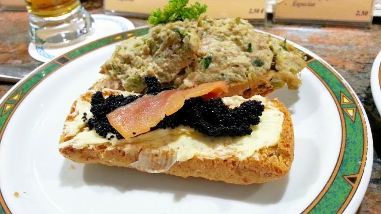 Café Tres Olivos - Pinchos del Sábado