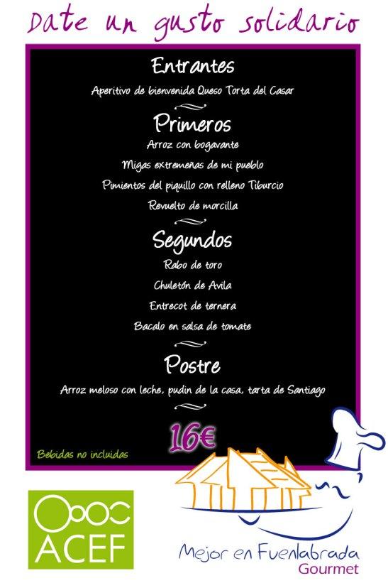 Restaurante Casa Tiburcio - Menú Fuenlabrada Gourmet
