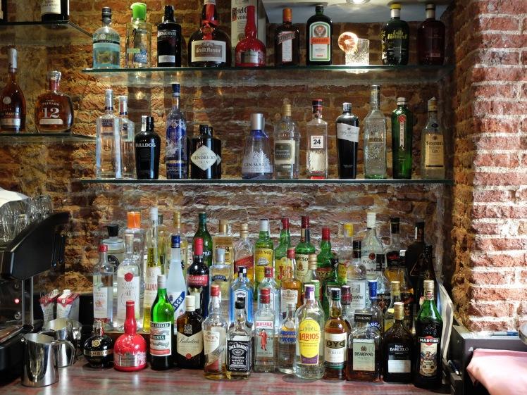 La Charca Taberna - Mueble bar