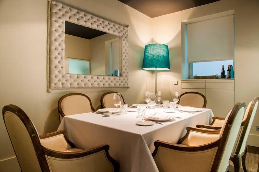 mesa en privado (foto de madridalacarta.com)