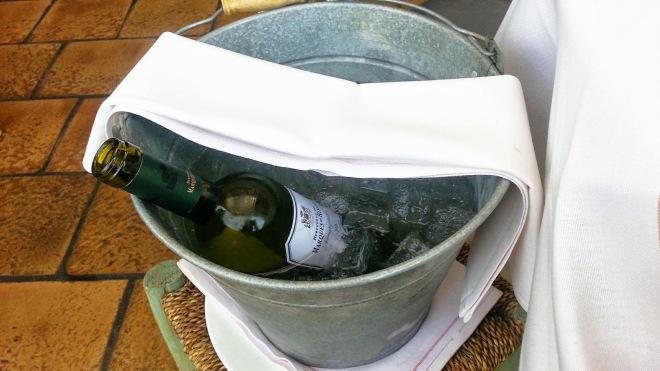 Restaurante Filandón - Enfriador de vino blanco