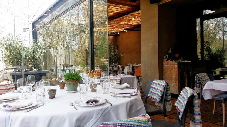 Restaurante Filandón - Sala acristalada de fumadores