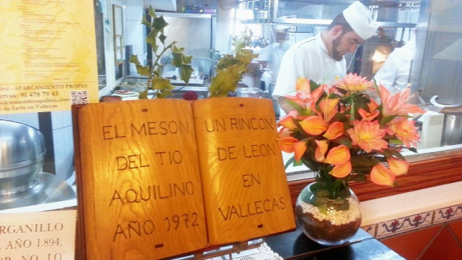 Mesón del Tío Aquilino - Desde 1972
