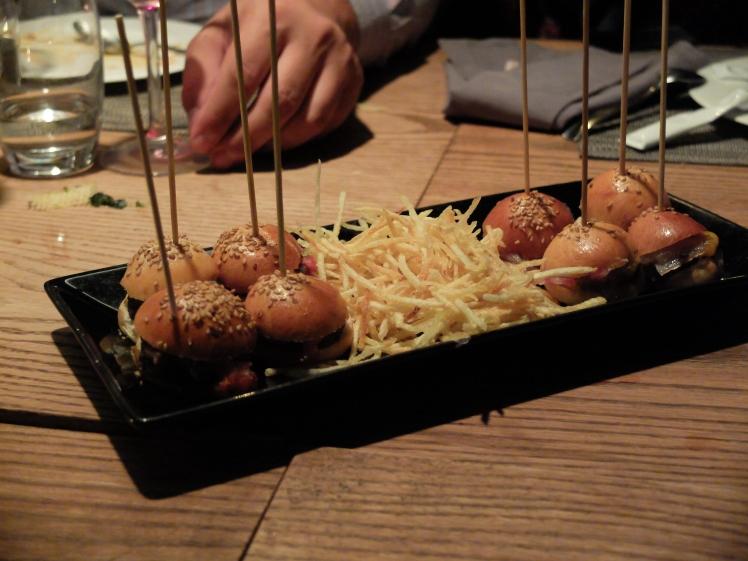 Lobbo mini hamburguesas