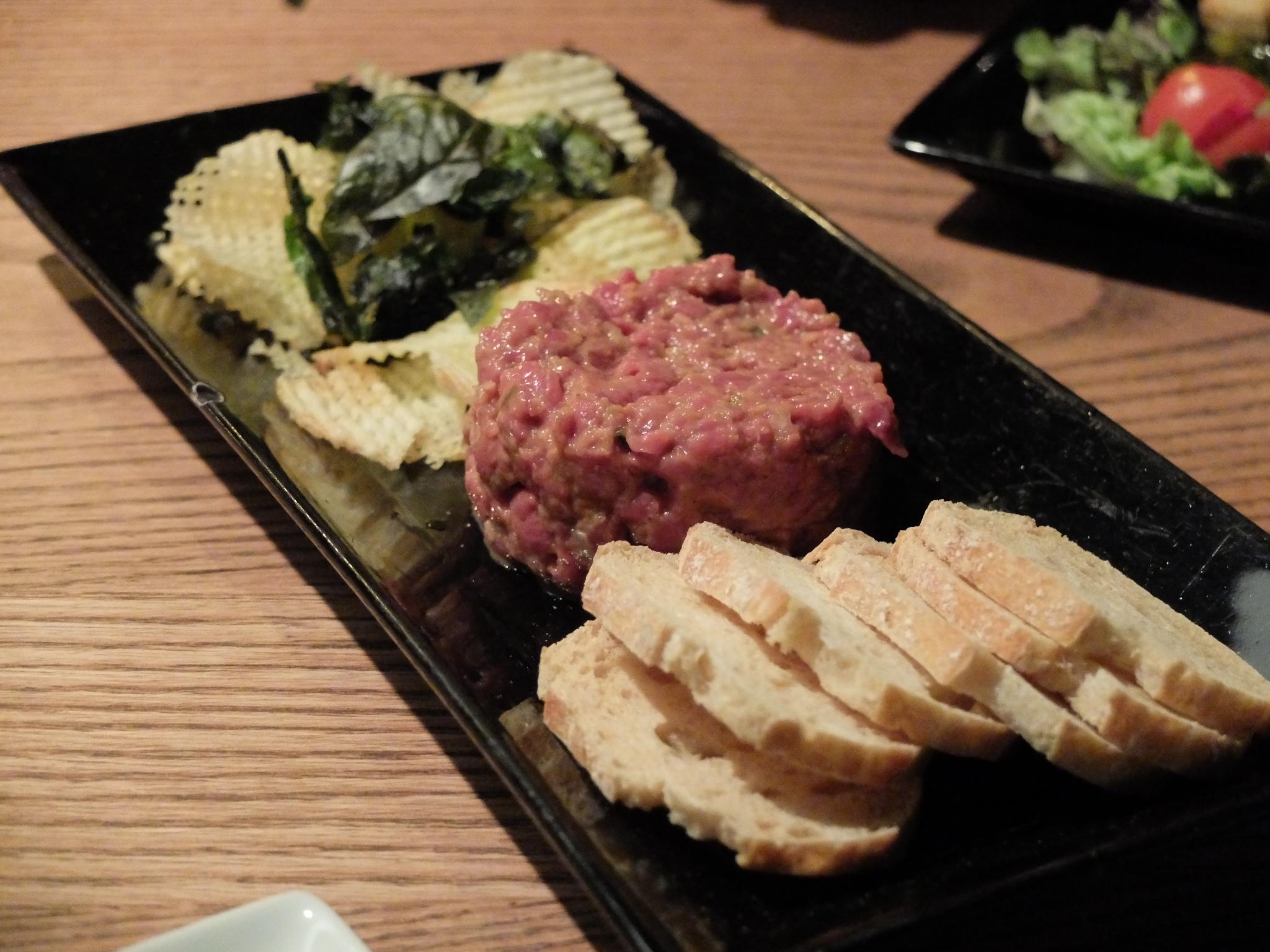 Lobbo steak tartare