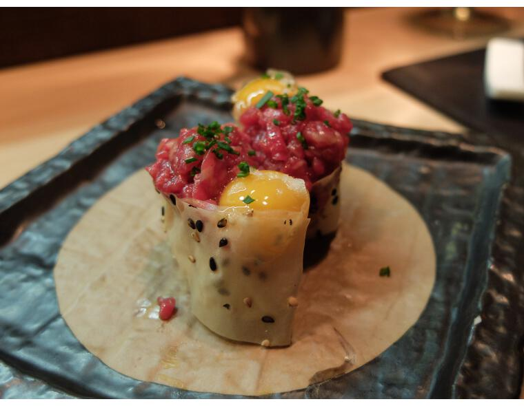 99 sushi bar niguiri steak tartar