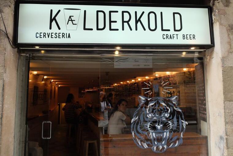 Cerveceria Kaelderkold Barcelona – Craft beer 100% en plenocentro