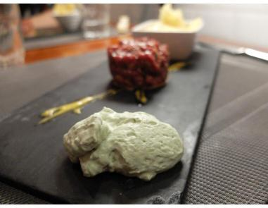 la gastroteca de santiago steak tartare wasabi