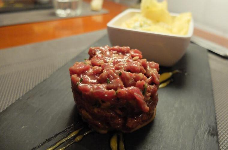 la gastroteca de santiago steak tartare