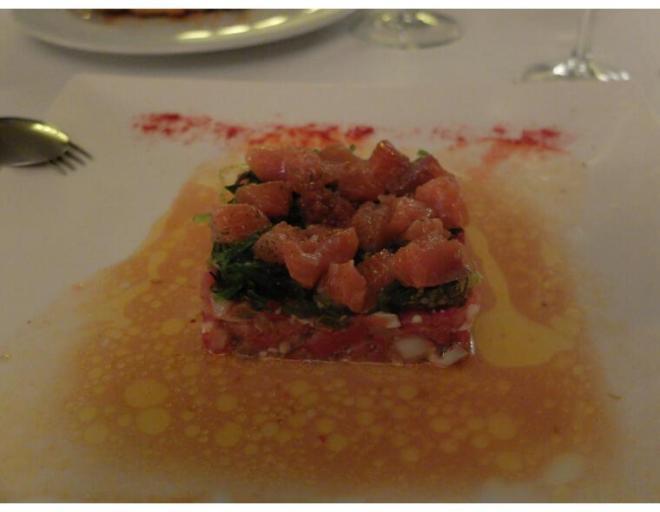 juan mari san pedro tartar de salmon