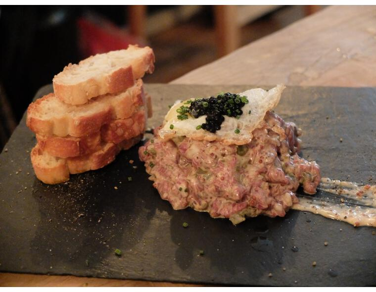 tandem madrid steak tartare