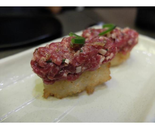 Kabuki steak tartare