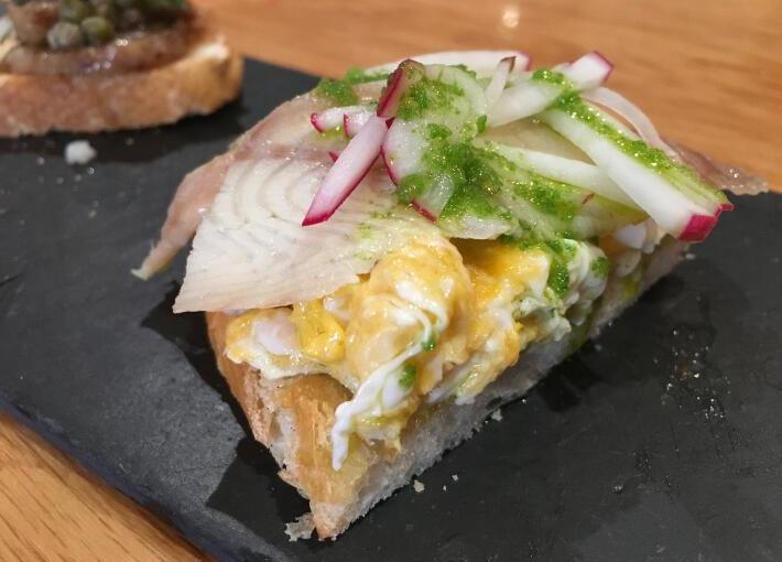 Restaurante Cuenllas – Excelente barra decanapés