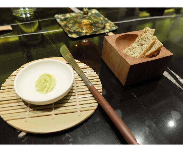 kappo aperitivo mantequilla verde