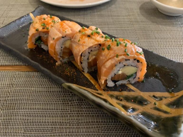 Kokoro Murcia - Roll de salmón