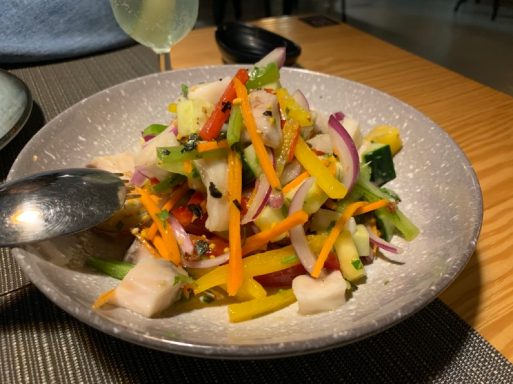 Umami Campoamor - Power Bowl Ceviche